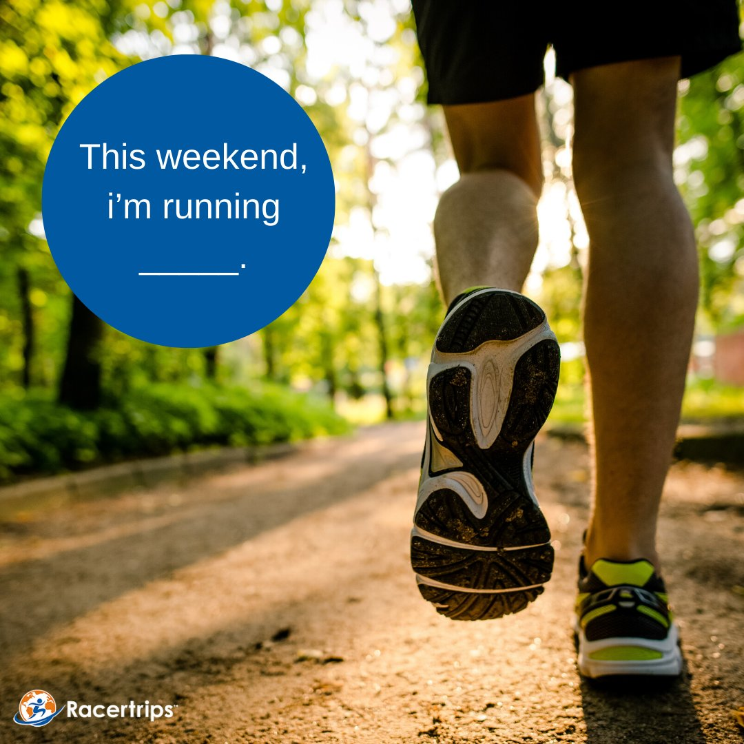 #FundayFriday: Tell us your weekend plans. #everymomentcounts #fitfam #runday #twentysixpointtwo #time2run #findyourstong #runallthemiles #racertrips #nopainnogain #trainhard #runforhealth #nevernottrainingpic.twitter.com/r6hUfo5R2Y