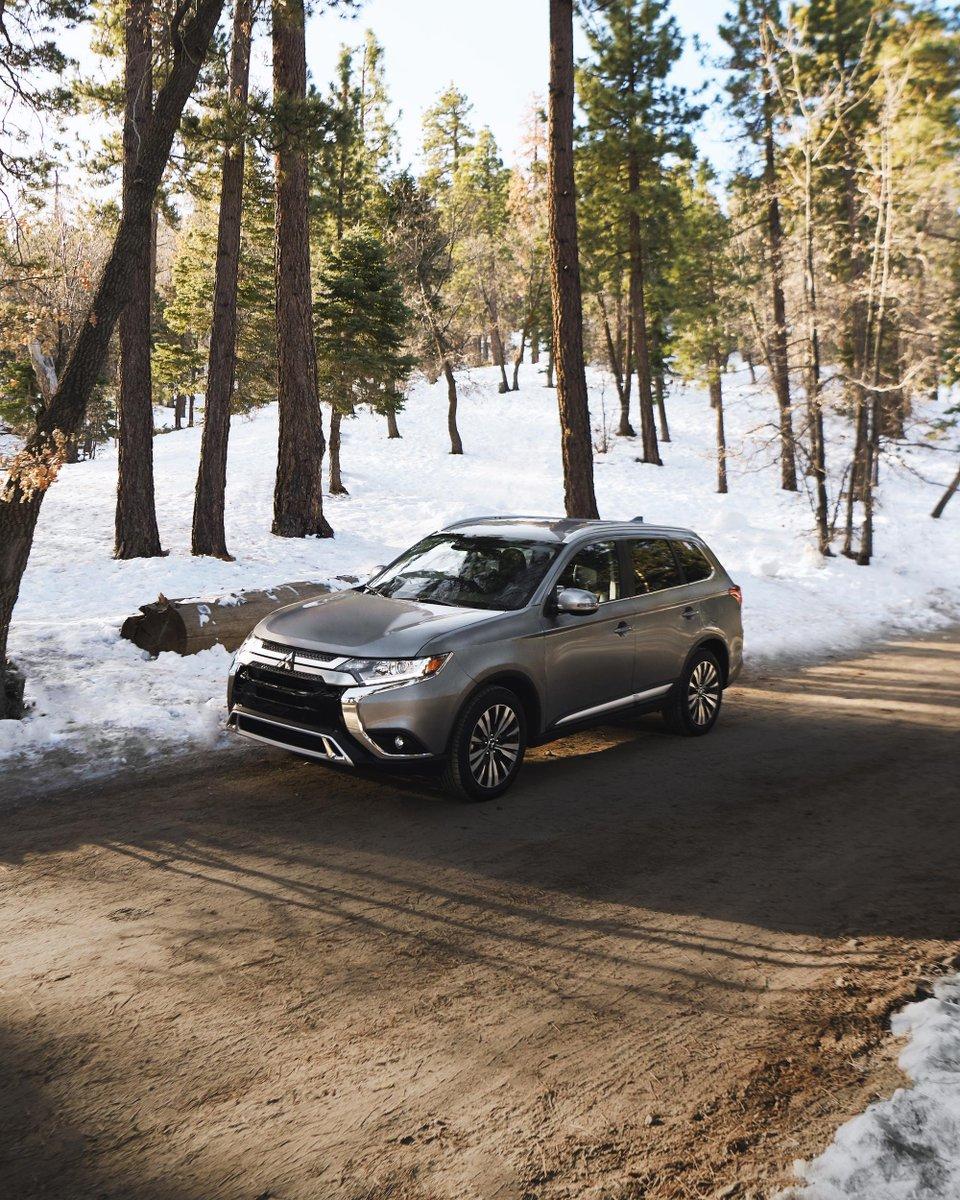 Gain some miles. Find some fresh air. #MitsubishiOutlander