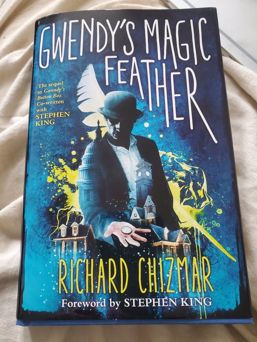 @flesbcps #VirtualSpiritWeek Favorite author that I graduated with @RichardChizmar Already on page 85.