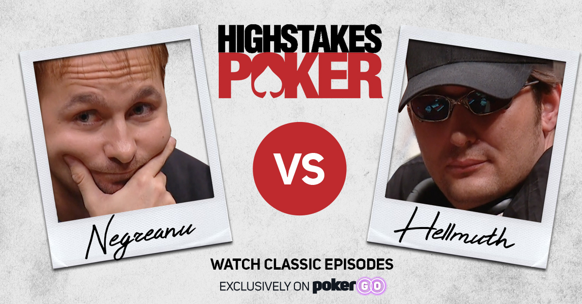 Are you Team @RealKidPoker or Team @phil_hellmuth? Watch #HighStakesPoker on PokerGO: bit.ly/2U5zzwi 📺