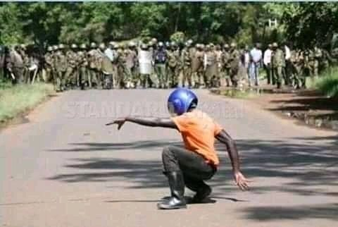 When you know you are the only sportsman in your village  #CurfewKenya #coronaviruskenya <br>http://pic.twitter.com/gvEcXIXUAq