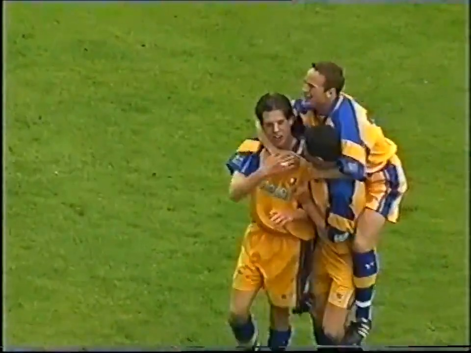 """""""Not from there...""""  🤩 A world-class strike from Darrell Clarke against Cardiff in 1999! #GoalOfTheDay"""