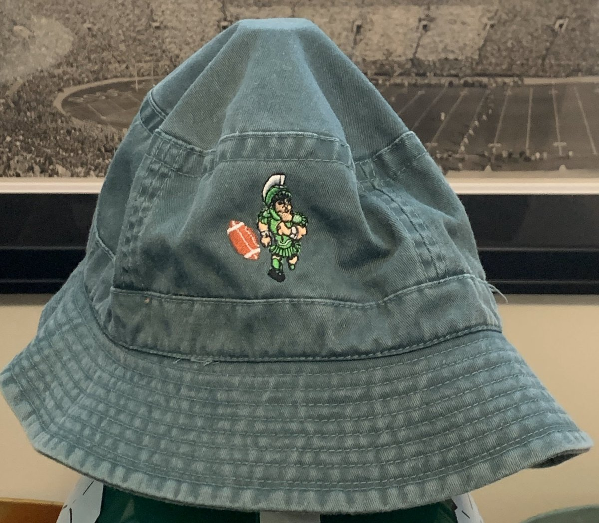 Would you wear this floppy bucket hat? #SpartanNation #GoGreen pic.twitter.com/nNq57K33g1