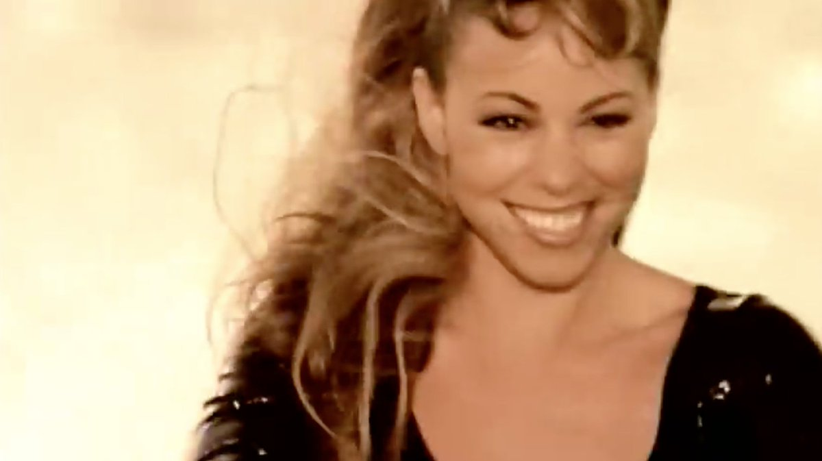"""On @mariahcarey's  bday we're remembering how iconic the """"Honey"""" video was: 1. Spanish accent 2. Witty one-liners 3. Handcuff escape 4. 1-punch KO 5. 2-story pool dive 6. Underwater outfit change 7. Perfect hair & make-up in a jet ski chase Your action star fave could never."""