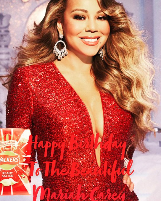 Happy Birthday To The Beautiful Mariah Carey