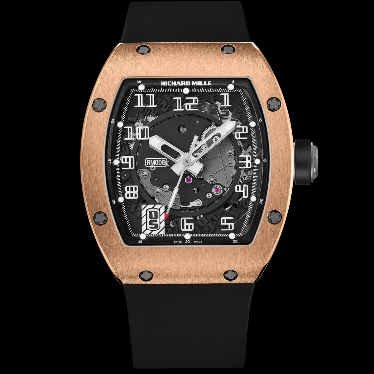 #Historicalmodels Launched in 2004, the RM 005 is a timeless and universal model. Its contemporary features are instantly recognizable as a pure #RichardMille product. https://t.co/sNNLmzaT7K