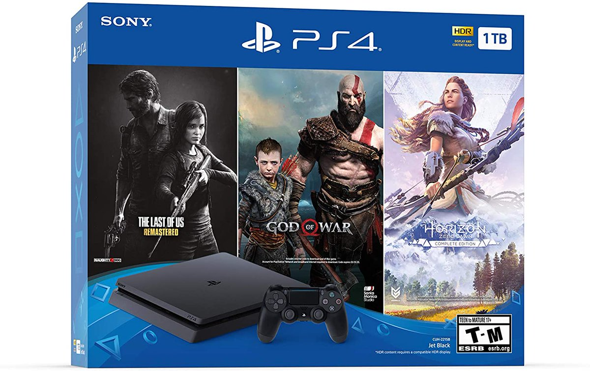 #ps4 #PS4share #PS4live #GamingSetup   PlayStation 4 Slim 1TB Console - Only On PlayStation Bundle from $234.07  https://amzn.to/2Ulk57s pic.twitter.com/CLAO1DxpDh
