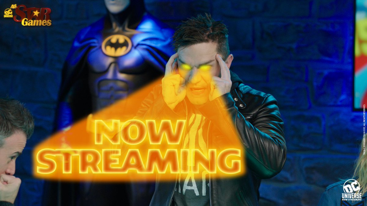 The all-powerful game master, @SamWitwer, demands you watch the latest episode of DC UNIVERSE ALL STAR GAMES. https://yourdcu.com/asge5pic.twitter.com/eBNwNl0GSM