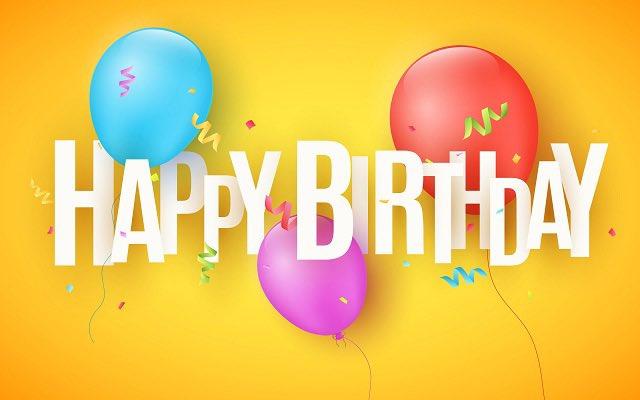 @bbray27 Happy birthday, my friend! Wishing you a wonderful day!🥰🎉🎈🥳🎁🎈