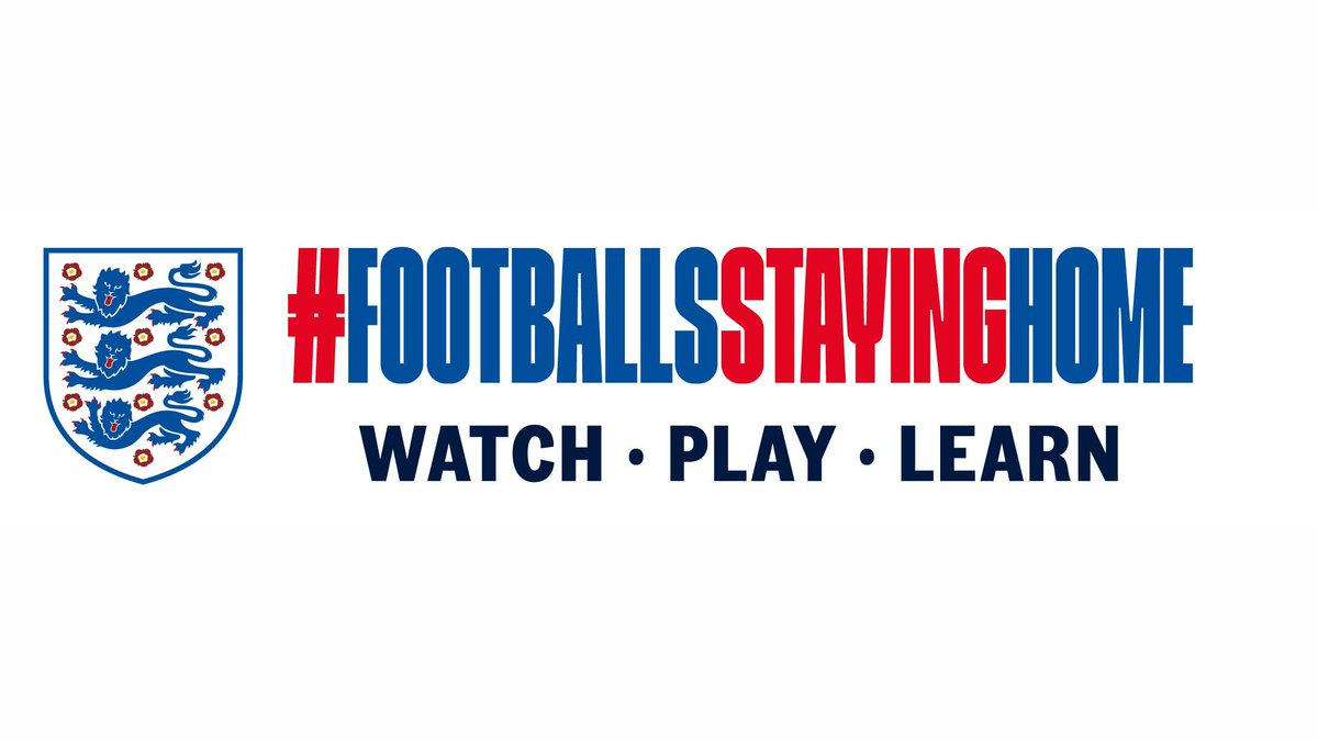 In times like these, football itself isn't important – but keeping you smiling, entertained and healthy is. Starting Monday: #FootballsStayingHome