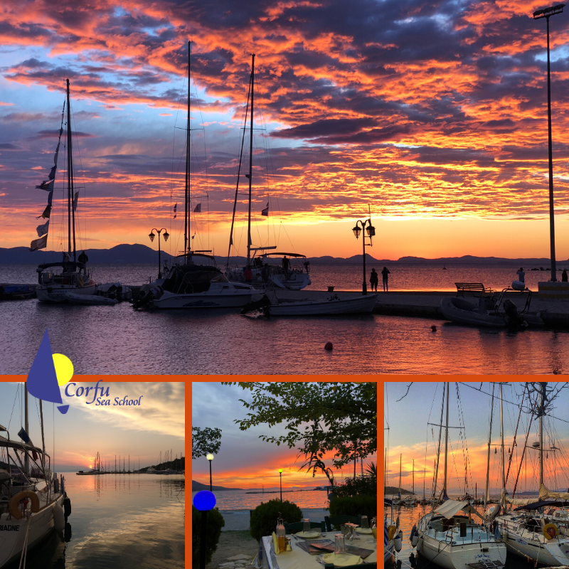 Experience many wonderful sunsets over the coast and across the Ionian Sea of Corfu when you join us on an RYA Sailing, Motor Cruising or Powerboating course. Click here for more info... http://bit.ly/CorfuSeaSchool #sailgreece #sailingcorfu #learntosailpic.twitter.com/zosbKTfxrb