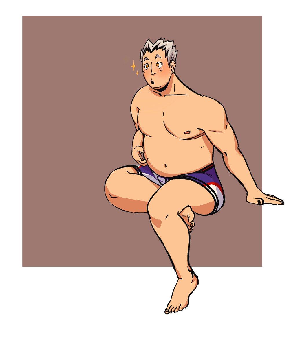 I just wanted to draw a cute Bokuto :v #haikyuu pic.twitter.com/50Xogg85pB