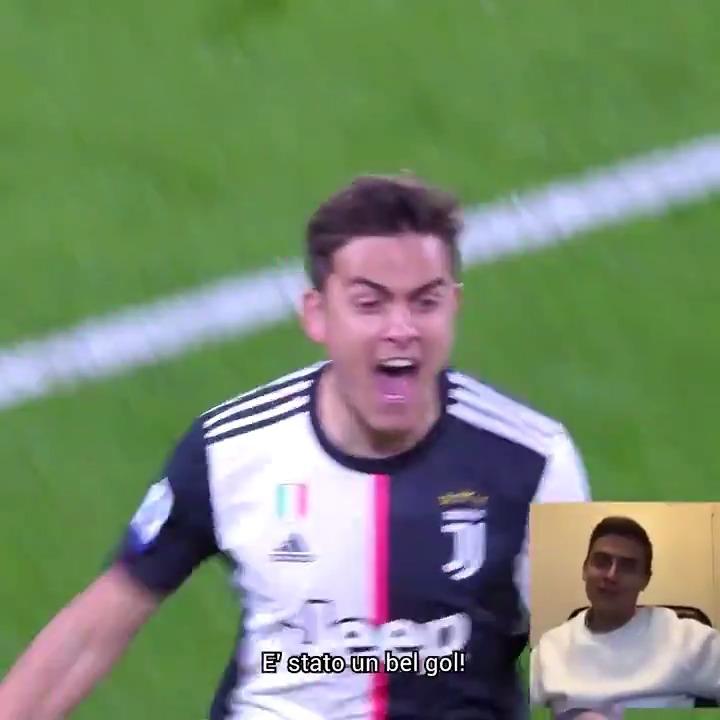 💎 La magia di @PauDybala_JR contro l'Inter? 🗣 Ce l'ha descritta direttamente lui!  #ACasaConLaJuve è LIVE (ma potete rivedere tutti gli episodi on demand 😎) ogni lunedì, mercoledì, venerdì alle 15:00 su:   👉 http://Youtube.com/Juventus 👉 @JuventusTV ➡️ http://juve.it/EOUQ30qpwzR