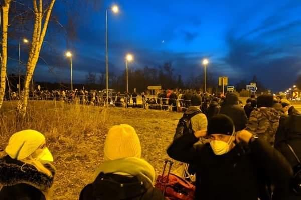Карантин на польско-украинской границе