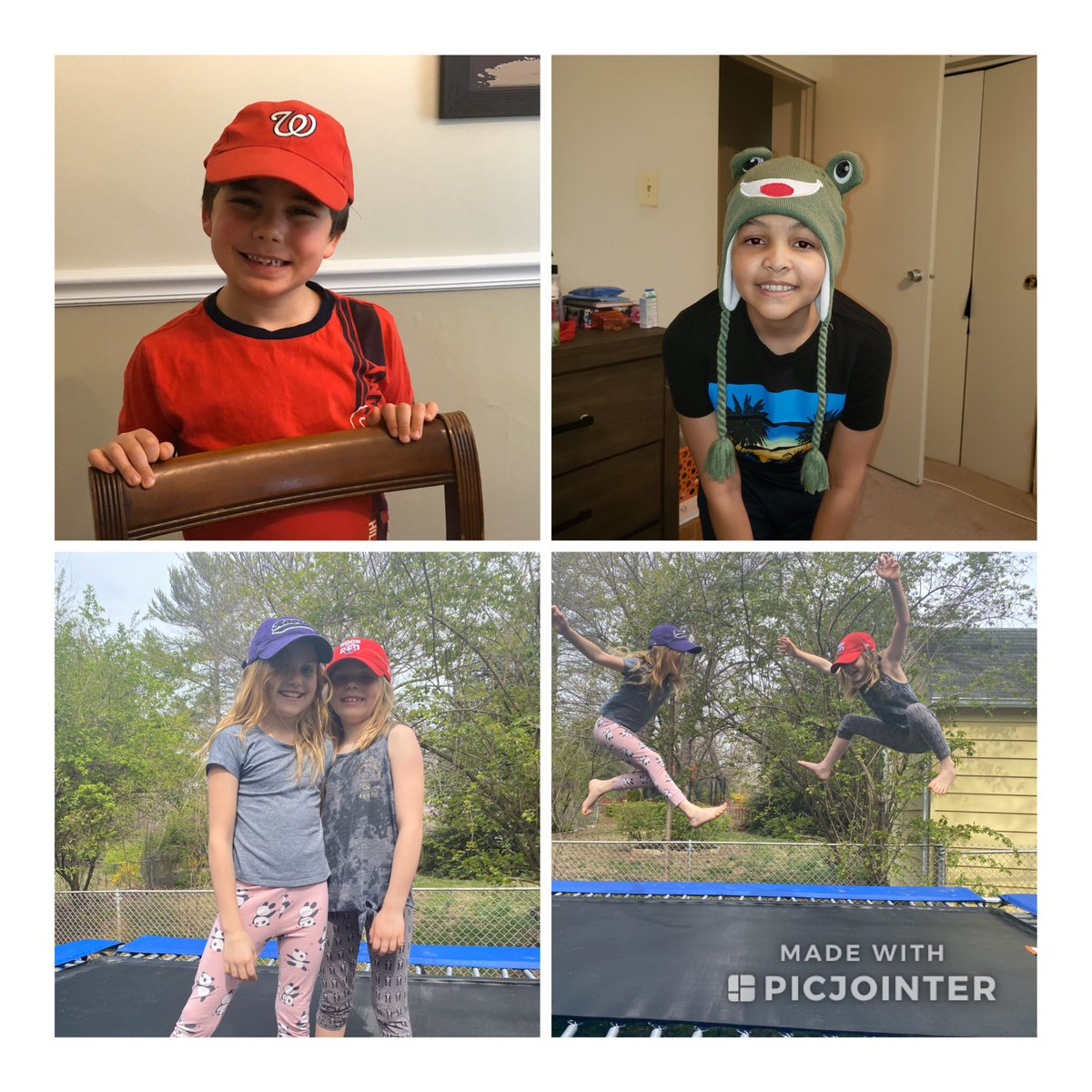 Virtual Hat day at Glebe with Glebers and folks from APS Central Office! Thank you all for joining our spirit!<a target='_blank' href='http://twitter.com/glebepta'>@glebepta</a> <a target='_blank' href='http://twitter.com/APSVirginia'>@APSVirginia</a> <a target='_blank' href='http://search.twitter.com/search?q=GlebeEagles'><a target='_blank' href='https://twitter.com/hashtag/GlebeEagles?src=hash'>#GlebeEagles</a></a> Follow along it will be many tweets! <a target='_blank' href='https://t.co/CrrA2GHTzK'>https://t.co/CrrA2GHTzK</a>