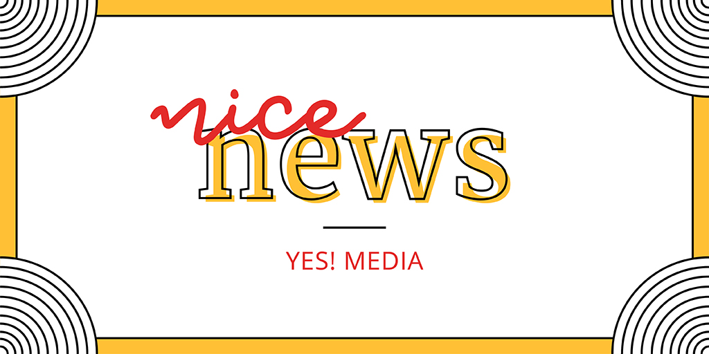 We're back with our #NiceNews thread: