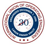 Image for the Tweet beginning: The @IUOELocal30 members who power
