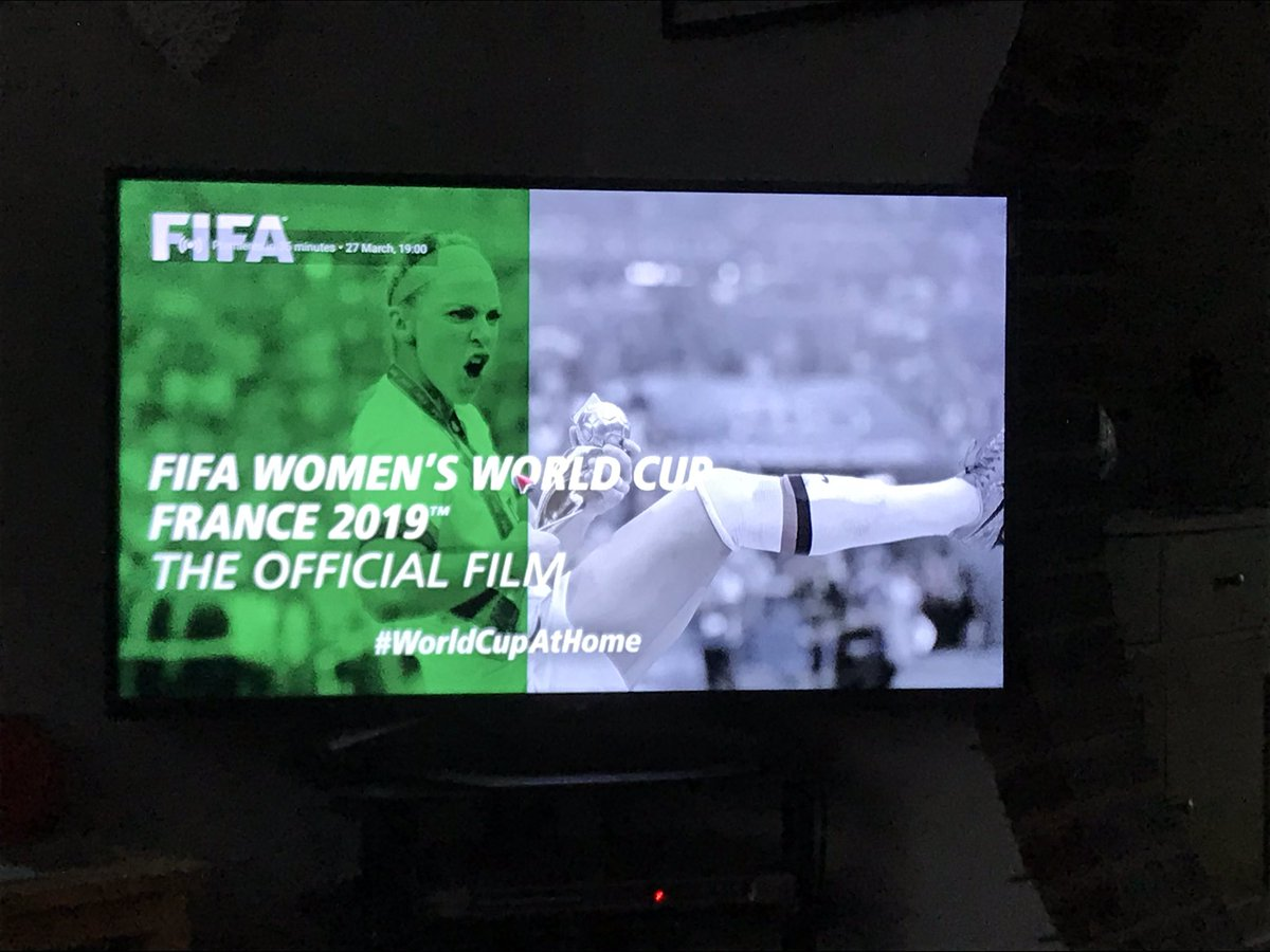 Not long now until this premieres tonight.  Time to bring some great memories back of warmer climes and a very special time in France last year!  Great times, great friends and great memories made.  You might see the COGS' flag a few times! 🏴 It's on YouTube at 7pm! #FIFAWWC2019 https://t.co/4Oq2Ka6IwU