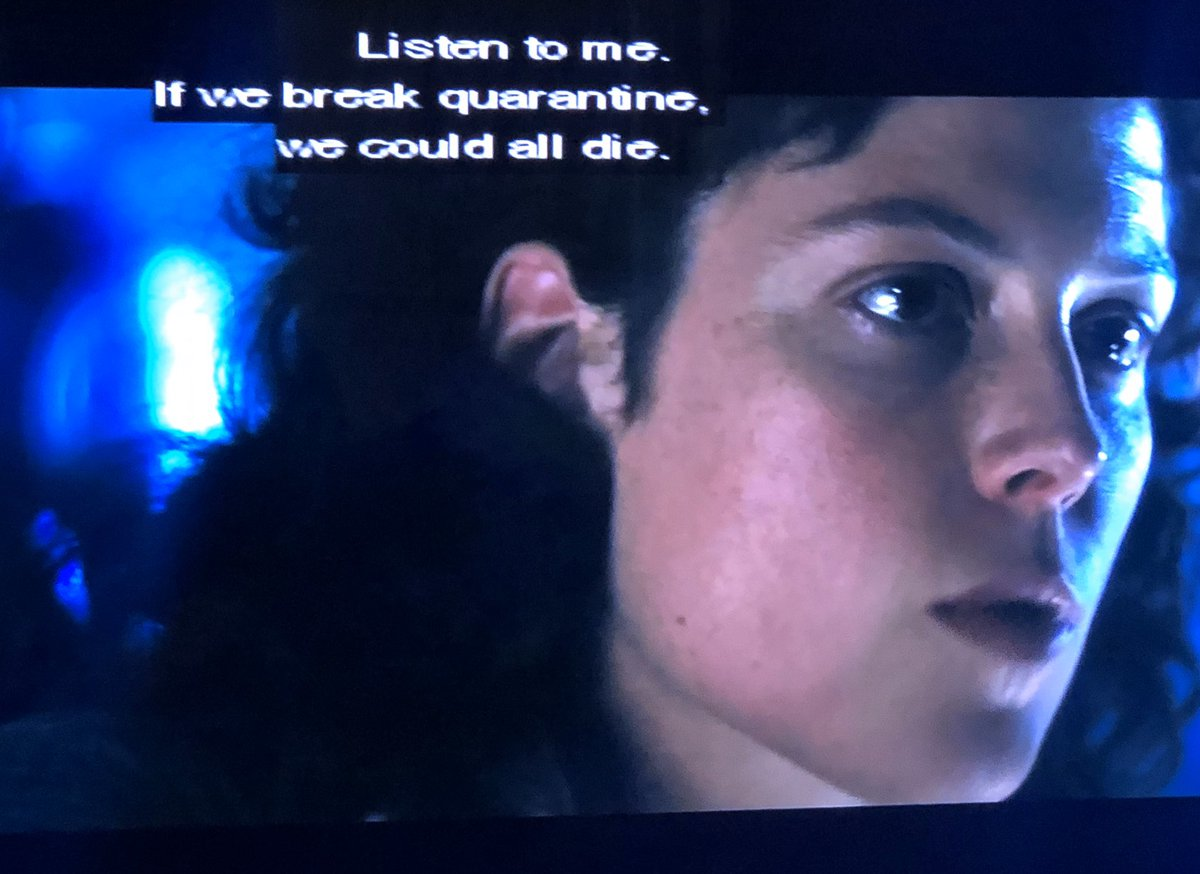 Listen to Ripley, you fools