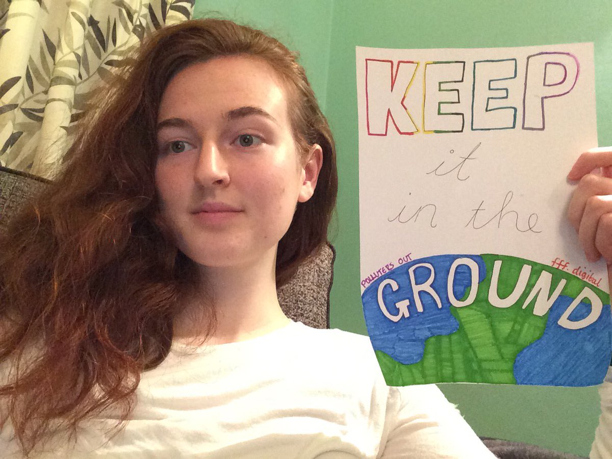 #KeepItInTheGround! #ClimateStrikeOnline with @pollutersout and @fff_digital