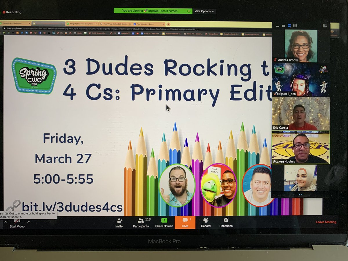 This is happening right now! #WeAreCUE @cogswell_ben @LakersHughes @EdTechGarcia