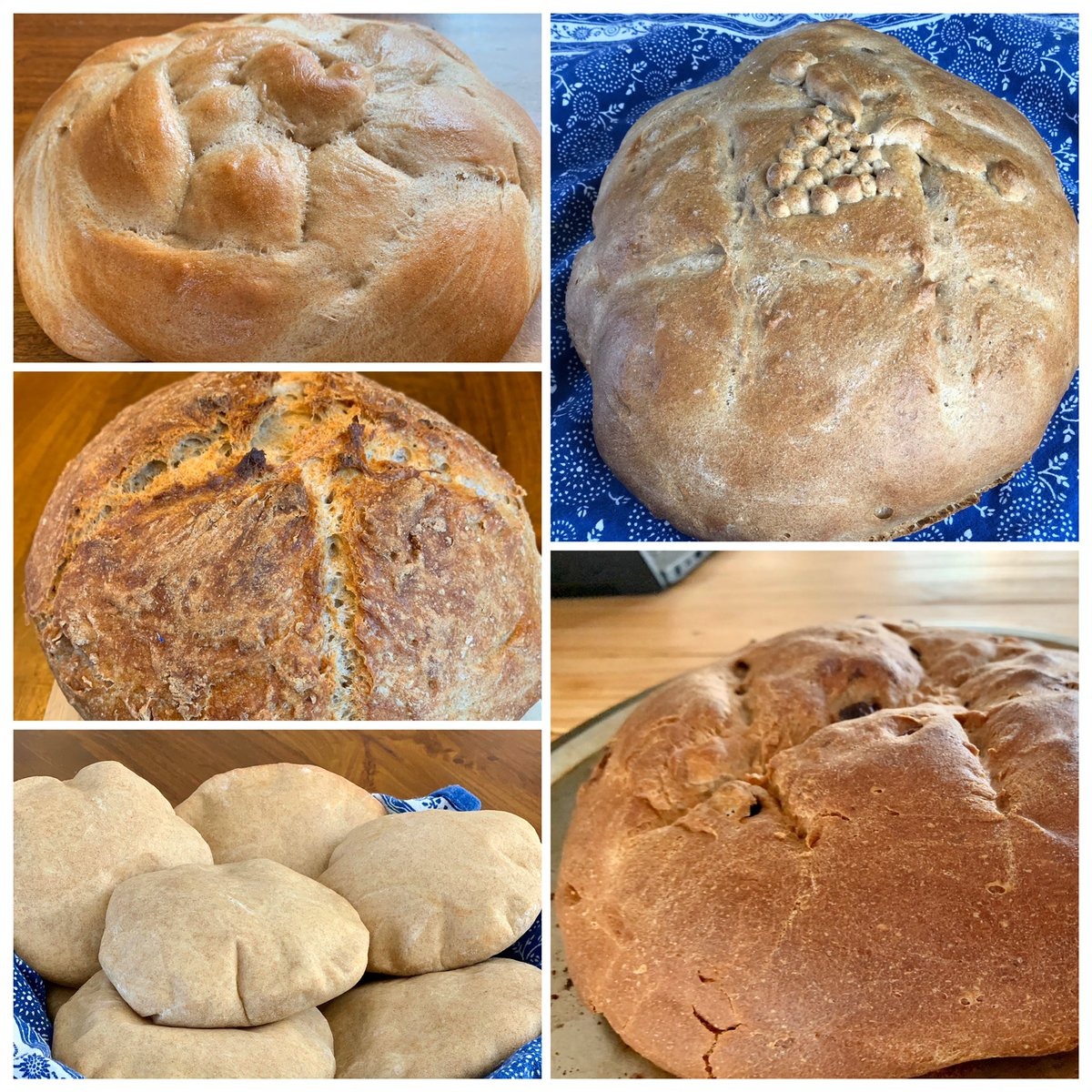Bread retrospective, first two weeks of #StayHomeCA #QuarantineLife