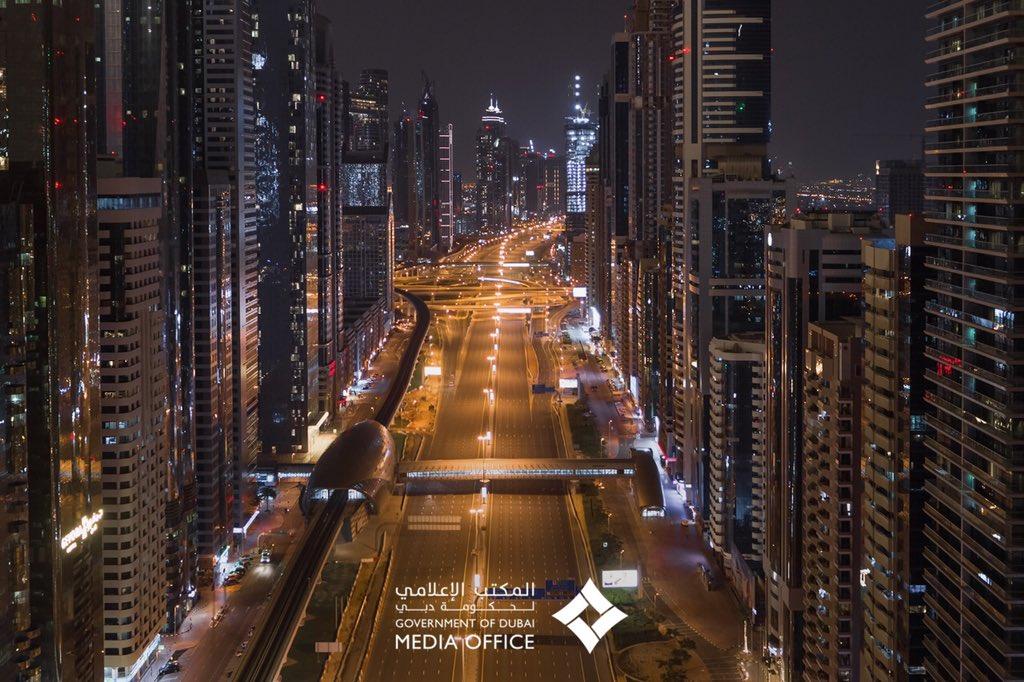 #Dubai thanks you for staying home. #StayHomepic.twitter.com/C1f4lnbyq9