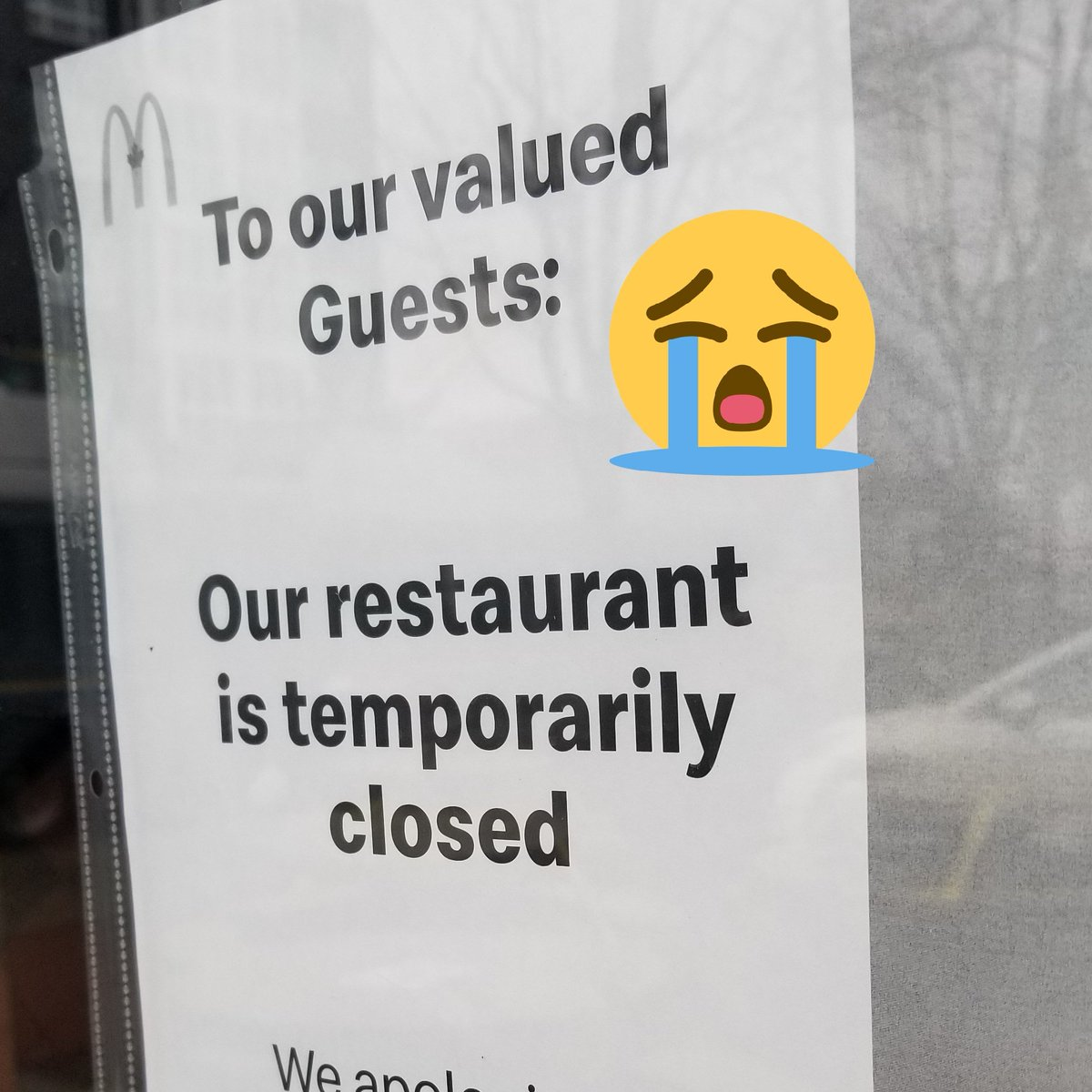 😭😭😭 Closed! @McDonaldsCanada #fishfryday #fishfriday #eastvan #food #foodies #foodie #foodblog #vancouver #vancouverbc #yvreats #yvr #vancity #yvrfoodies #vancouverfood #vancouverfoodie #vancouverfoodies #burnaby #newwest #surreybc #richmondbc #Canucks