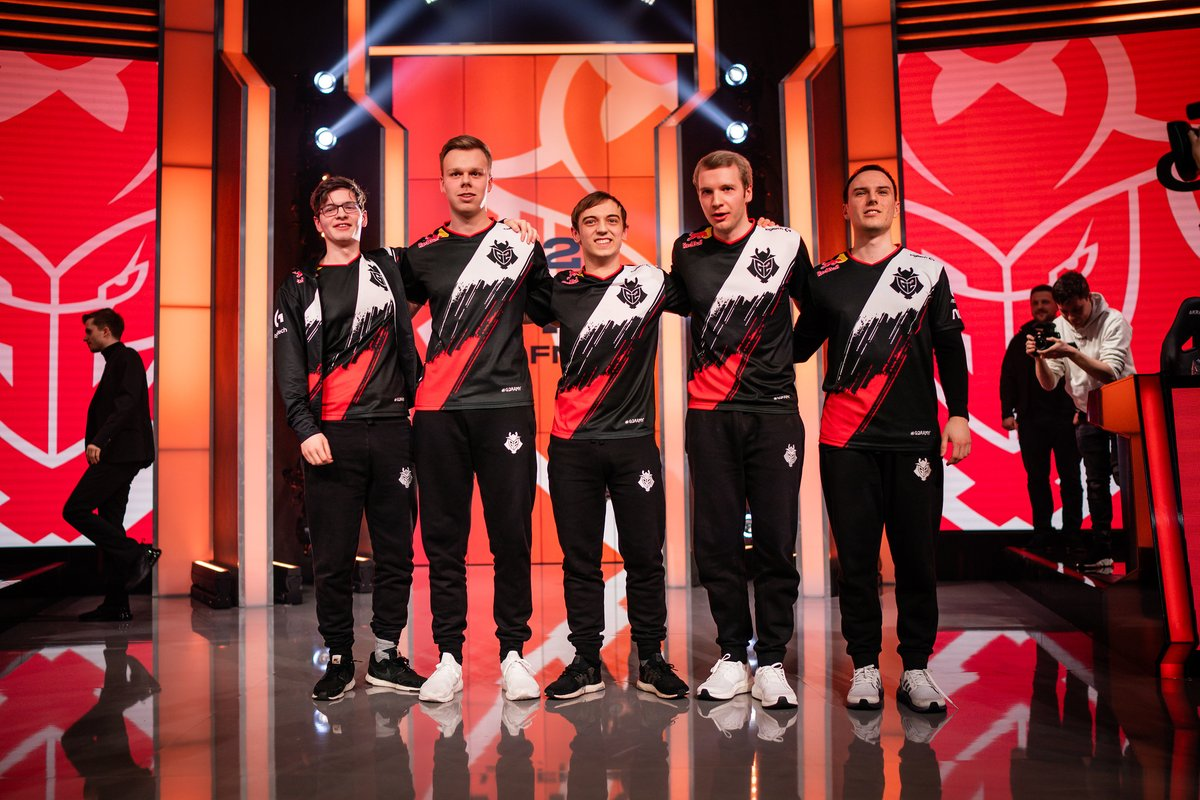 ...and with that win, @G2esports have locked in first place in the #LEC Regular Season! 🥇