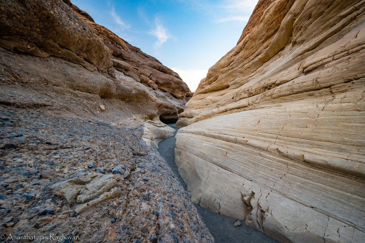 Mosaic Canyon, Death Valley Did the hike in February and it was not as good as expected but some of the views were pretty good.   Nikon z6 - NIKKOR Z 14-30mm f11, 14mm, 800 ISO   @NikonUSA #nikonphotography #nikonz pic.twitter.com/O4tzshFQjA