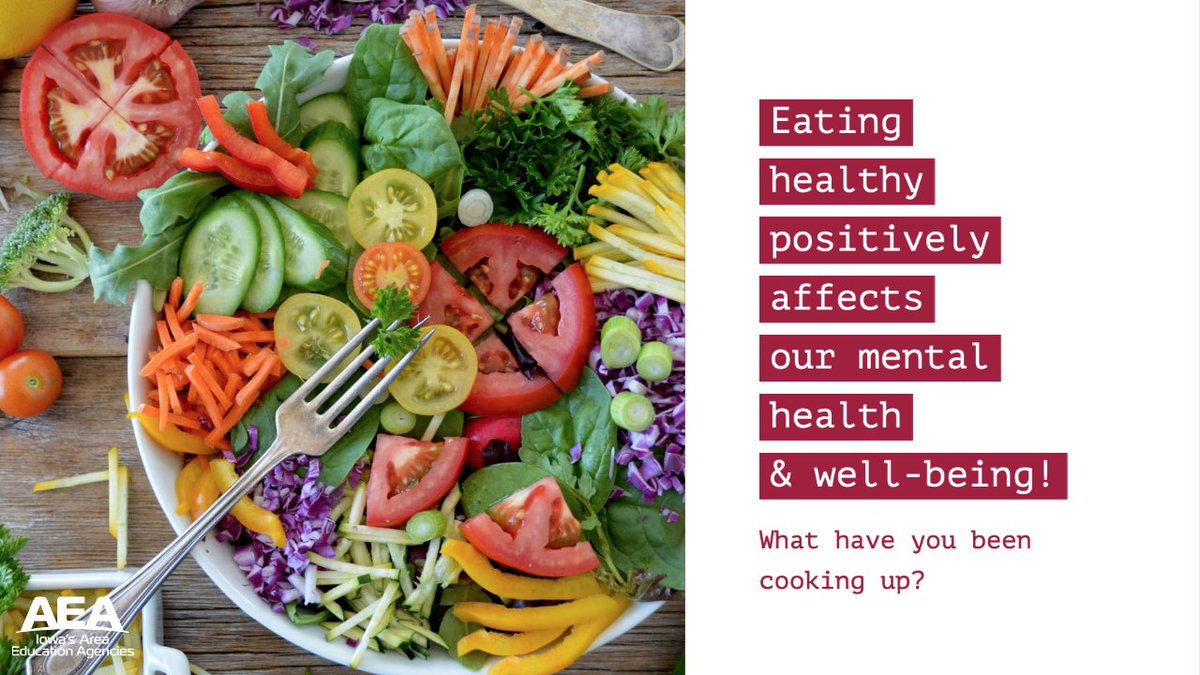 Iowa S Aeas On Twitter Healthy Eating Affects Our Mental Health And Well Being A Balanced Diet Can Counter The Impact Of Stress And Anxiety Lower Blood Pressure And Reduce Health Risks Remember To