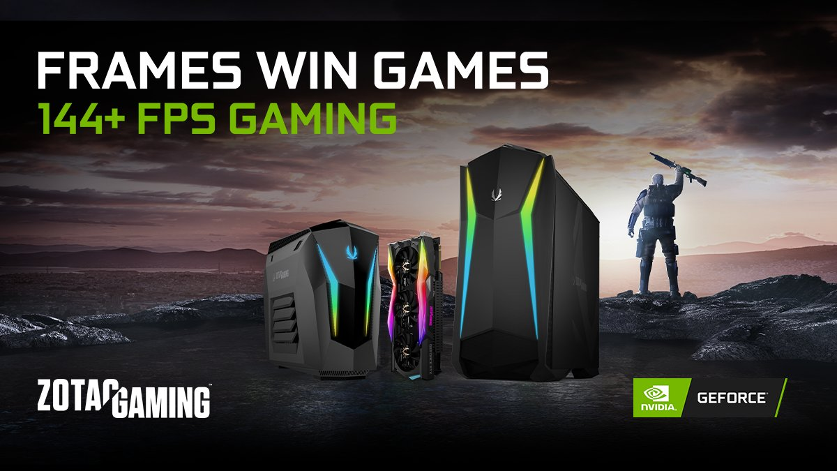 More Frames Wins You Games #ZOTACGAMING #FramesWinGames  Learn More   http:// ow.ly/T3dP50yY4n3       #FPS #NVIDAGeForce #PcGaming #Gaming #PCMR #pcmasterrace<br>http://pic.twitter.com/4kRMYoOiTN
