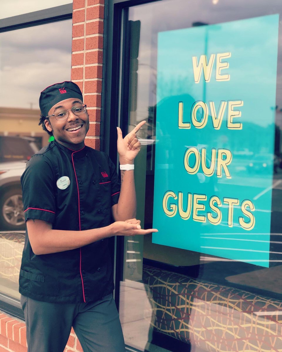 We sure do! ❤️ We hope our new window signs brighten your day, provide encouragement, & serve as a reminder that we are all in this together! #cfaaberdeen #weloveourguests #positivemessages #WereInThisTogether