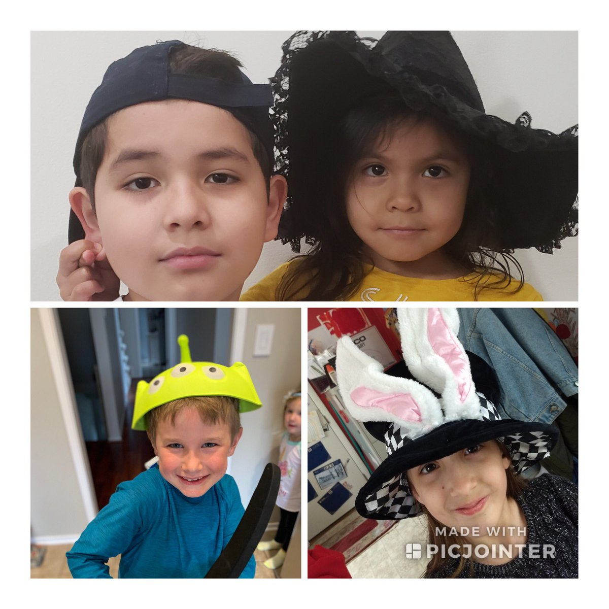 Virtual Hat day at Glebe with Glebers and folks from APS Central Office! Thank you all for joining our spirit!<a target='_blank' href='http://twitter.com/glebepta'>@glebepta</a> <a target='_blank' href='http://twitter.com/APSVirginia'>@APSVirginia</a> <a target='_blank' href='http://search.twitter.com/search?q=GlebeEagles'><a target='_blank' href='https://twitter.com/hashtag/GlebeEagles?src=hash'>#GlebeEagles</a></a> <a target='_blank' href='https://t.co/VjGt7NE6PV'>https://t.co/VjGt7NE6PV</a>