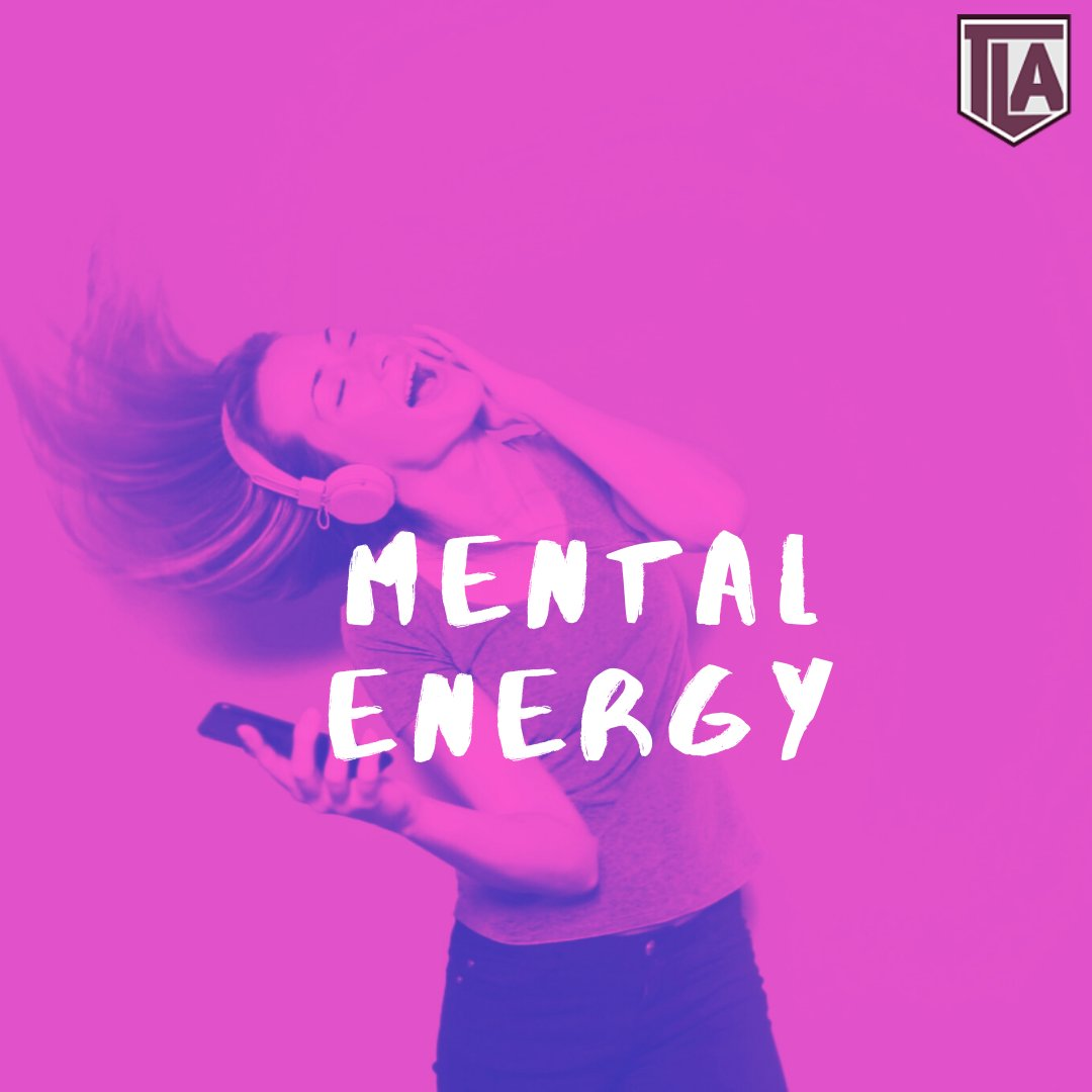 Check out our blog on what mental energy is & why it's so important https://buff.ly/2UodIAc   #happy #mentalhealth #stress #anxiety #motivationalspeaker #tla #tlamindset #CBT #sportspsychology #psychologyfacts #mindsetcoaching #performancecoach #mentalhealthsupport pic.twitter.com/MDvfrsnD4t