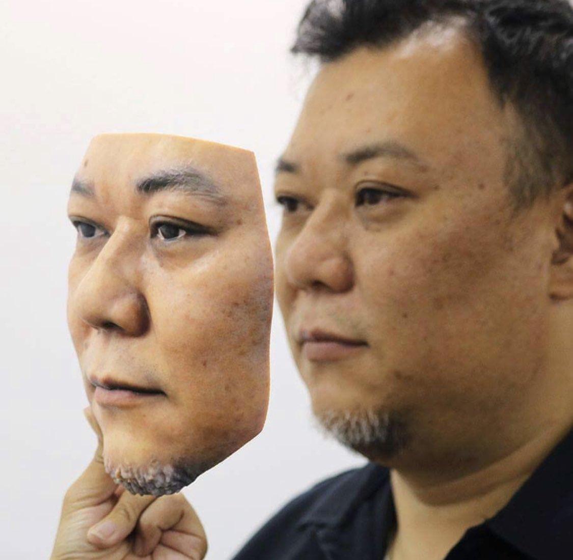 3Dプリンタでマスク作った
