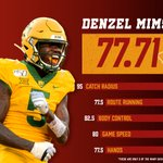 Image for the Tweet beginning: Denzel Mims is going to