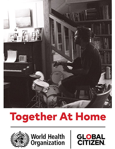 Jack will play a #TogetherAtHome concert this Saturday in support of the @WHO. Tune into Instagram March 28 at noon Hawaii time (3pm PST, 6pm EST) & follow Jack. We can practice social distancing & connect as a global community through music. https://t.co/HdY1Xzd1U6 https://t.co/EnM2AGVQnt