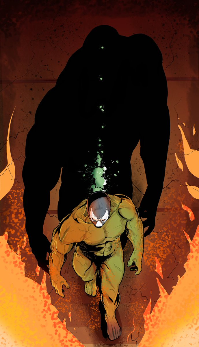 #Bane I just finished. IMHO Batman's greatest for. #batman #Batfamily #dceu #dccomics #dc #comics #artist #sketch #villains #FridayVibes #joker #dceu #comicart #gothampic.twitter.com/p54JUyTIwX