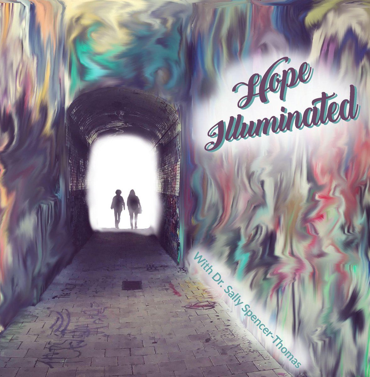 New #podcast art for our #HopeIlluminated show by my son Nick.