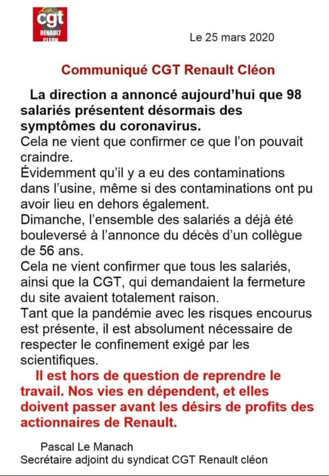 CGT TUIFRANCE on Twitter