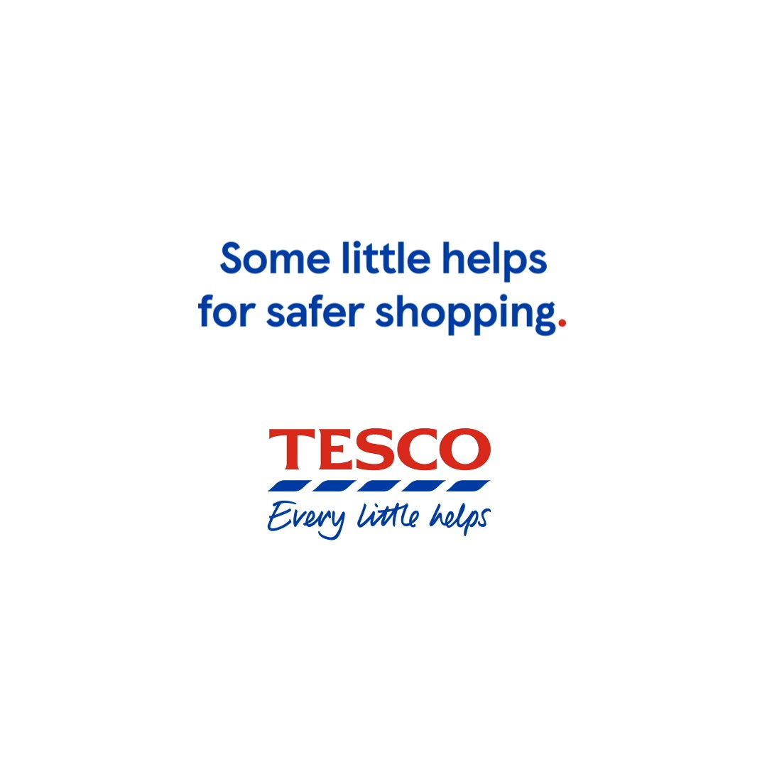 Some little helps for safer shopping from some of our wonderful Tesco colleagues. Because now more than ever, #EveryLittleHelps For more information head to tesco.com/help/covid-19/