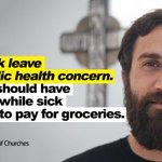 Image for the Tweet beginning: Sick workers  sick public.