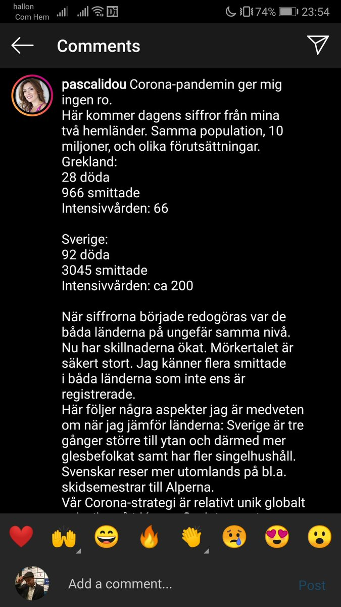 Not so good for our Sweden, but i still like the freedom of choosing to go out and work because i know no one including the government would feed my family. They just want to borrow me money so that they take away my house then inorder to pay the debt. Back to work #Entrepreneur pic.twitter.com/OfsxXJmGHw