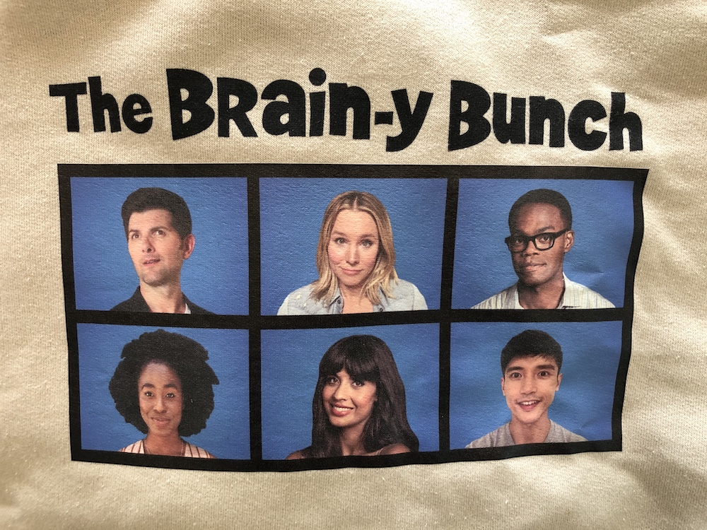 Video conference calls got the whole squad looking like The Brain-y Bunch.