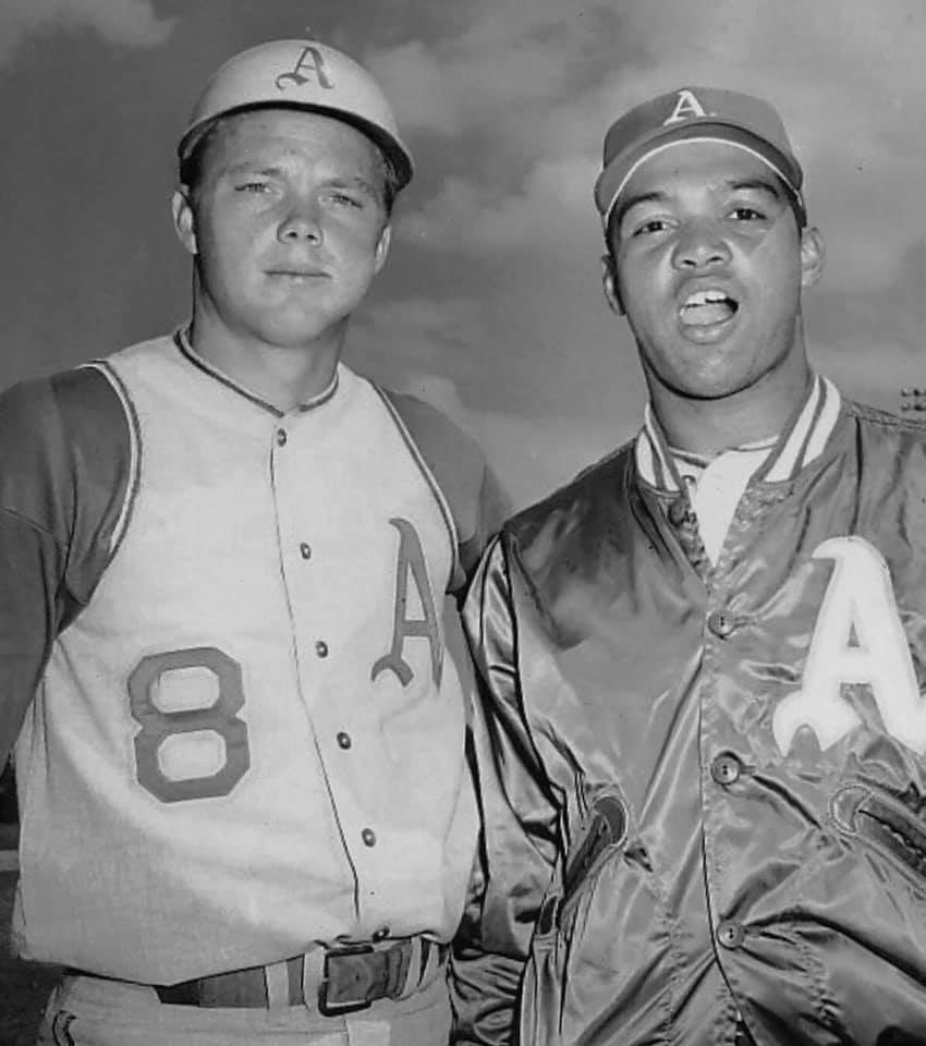 Dave Duncan and Reggie Jackson