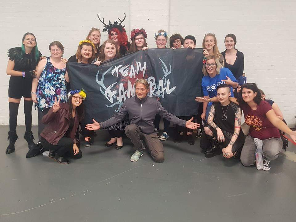 This is definitely one of my favourite memories.  LFCC 2017 #timedidreverse #FannibalMeatUp<br>http://pic.twitter.com/W4whUdxlbG