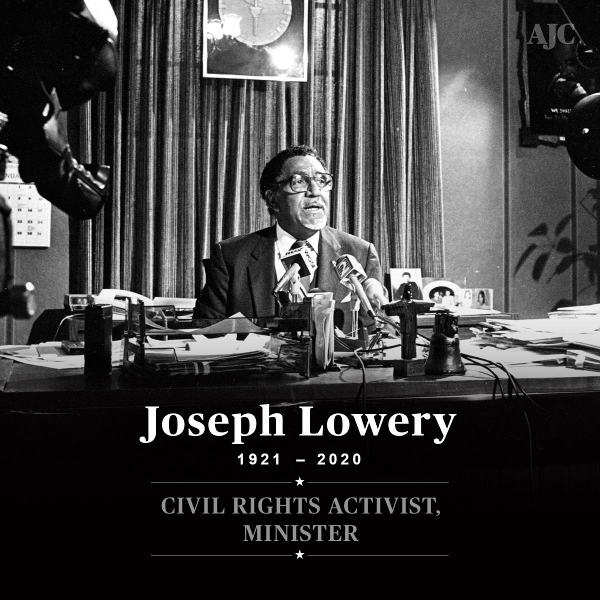 Remembering the Rev. Joseph Lowery bit.ly/2WNFTtT