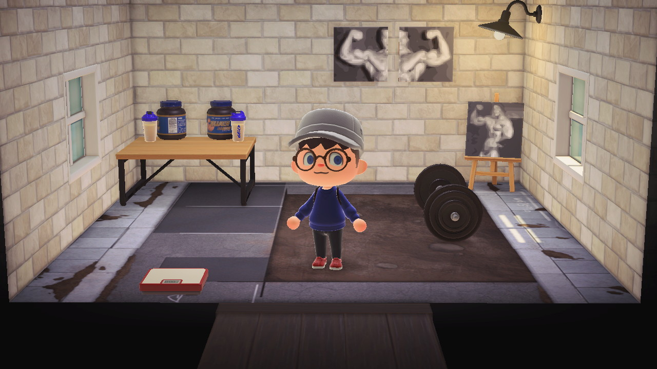 Floobis On Twitter Home Gym Coming Allow Well Animalcrossing Acnh Nintendoswitch