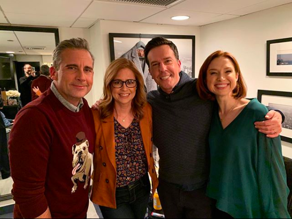 Leave a ❤️ if you love this cast as much as we do. 📸: @jennafischer